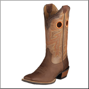 Ariat Wildstock Men's Western Boots - WeatheredBrown/Quartz 10005876 (SKU: 10005876)