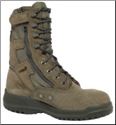 Belleville Mens Hot Weather Tactical Side Zip Boots 610Z (SKU: 610Z)