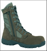 Belleville Men's Flyweight Side-Zip Composite Toe Garrison Boot TR696Z CT (SKU: TR696Z CT)