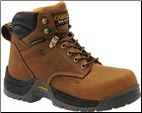 "Carolina Women's 6"" Waterproof Composite Broad Toe-Brown CA1620"