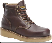 "Carolina Men's 6"" Broad-Toe Wedge Work Boot-Dark Oak CA3049 (SKU: CA3049)"
