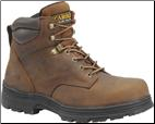 "Carolina Men's 6"" Waterproof Steel Toe Work Boot-Brown CA3526"