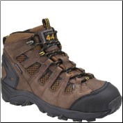 "Carolina Men's 6"" 4x4 Waterproof Hiker-Brown/Black CA4025"