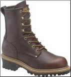 "Carolina Women's 8"" Logger Boot-Dark Brown CA421"