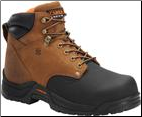 "Carolina Men's 6"" Composite Toe Internal Metguard-Copper Brown/Black CA5582"