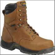 "Carolina Men's 8"" Composite(safety-toe) Waterproof Broad Toe Work Boot-Copper Brown CA8520"