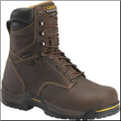 "Carolina Men's 8"" Composite Toe Waterproof Insulated Broad Toe Work Boots-Dark Brown CA8521"