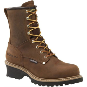 "Carolina Men's 8"" Waterproof Logger-Brown CA8821 (SKU: CA8821)"