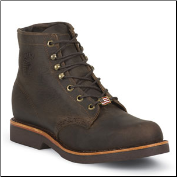 "Chippewa Men's 6"" Chocolate Apache Lacer 20065"