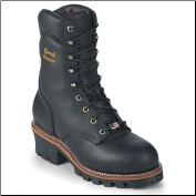 "Chippewa Men's 9"" Black Oiled Waterproof Logger Boot 25411 (SKU: 25411)"