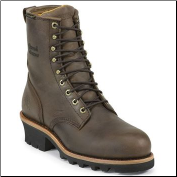 "Chippewa Men's 8"" Bay Apache Waterproof Steel Toe Logger Boot 26341 (SKU: 26341)"