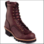 "Chippewa Men's 8"" Briar Oiled Redwood Lace to Toe Logger Boot 73075 (SKU: 73075)"