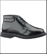 Bates Men's Lites Leather Padded Collar Chukka Boot - Black E00078