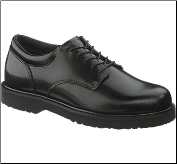 Bates Men's High Shine Duty Oxford-Black - E22233 (SKU: E22233)