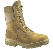 Bates Women's DuraShocks® Steel Toe Boot-Tan - E77701 (SKU: E77701)