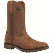Georgia Men's Carbo-Tec Square Toe Work Wellington - Dog Wood G006