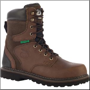 "Georgia Men's 8"" Brookville ST WP Work Boot - Brown G9334"