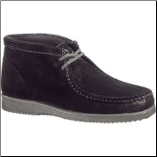 Hush Puppies Bridgeport Men's Chukka - Black Suede H14915