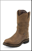 Justin Men's  Worker II - Wyoming Waterproof Insulated, Steel Toe Work Boots WK4981 (SKU: WK4981)