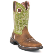 Durango Women's Flirt Tan Saddle-Lace Western RD3573