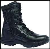 "Belleville Men's 8"" Hot Weather Side Zip Boot - TR CHROME TR918Z"