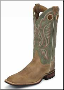 Justin Men's Bent Rail Boots - Arizona Tan Cowhide BR354 (SKU: BR354)