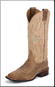 Justin Women's Bent Rail - Arizona Mocha - BRL338 (SKU: BRL338)