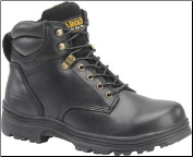 "Carolina Men's 6"" Steel Toe Work Boot-Black CA3522"