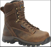 "Carolina Men's 8"" Waterproof Insulated 4X4 Composite Toe-Brown CA4515"