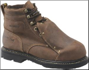 "Carolina Men's 6"" Broad Toe Waterproof Metatarsal Guard-Brown CA5501"