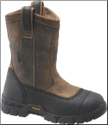 "Carolina Men's 10"" Waterproof Composite Broad Toe Wellington-Brown CA5533 (SKU: CA5533)"