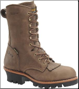 "Carolina Men's 10"" Insulated Gore-Tex Steel Toe Logger-Cork Harness CA7519"