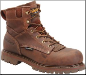 "Carolina Men's 6"" Grizzly Waterproof Composite Safety-Toe Work Boot-Brown CA7528"