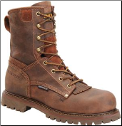 "Carolina Men's 8"" Waterproof Composite Toe Work Boot-Brown CA8528"
