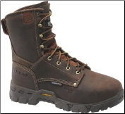 "Carolina Men's 8"" Composite Toe Internal Metguard-Brown CA9582"