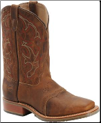 Double H Men's Wide Square Toe ICE Roper-Oldtown Folklore DH3560 (SKU: DH3560)