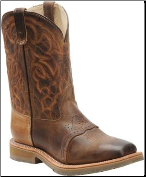 "Double H Men's 11"" Safety Toe Square Toe Roper-Oldtown Folklore DH3567"