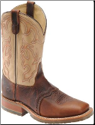 "Double H Men's 11"" Bison Square Toe Roper-Briar/Echo Taupe DH4305"
