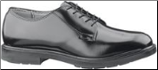 Bates Men's Leather Durashocks Oxford-Black - E00112 (SKU: E00112)
