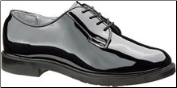 Bates Women's High Gloss Durashocks Oxford-Black - E00742 (SKU: E00742)
