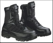 "Bates Men's 8"" Tactical Sport Composite Toe Side-Zip-Black - E02263"