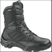 Bates Men's GX-8 Gore-Tex Side Zip Boot-Black - E02268