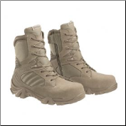 Bates Men's GX-8 Desert Composite Toe Side Zip Boot-Tan - E02276