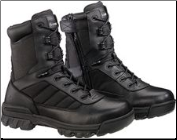 Bates Women's Tactical Sport Side Zip Boot-Black - E02700 (SKU: E02700)