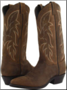 Justin Men's Classic Western Boot Bay Apache - Brown 2263 (SKU: 2263)