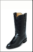 Justin Women's Farm & Ranch - Black Kidskin - L3703