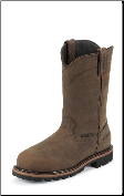 "Justin Original Workboots Men's Worker II - 10"" Wyoming Waterproof Round Toe - WK4630 (SKU: WK4630)"