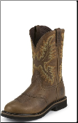 Justin Men's Non-Steel Toe Boots: Sunset Cowhide WK4655