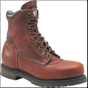Carolina Men's Domestic 8'' Plain Toe Work Boots - Brown 809 (SKU: 809)