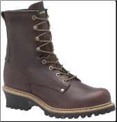 "Carolina Men's 8"" Steel Toe Logger-Brown 1821"